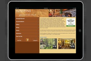 Junipine Mobile Site